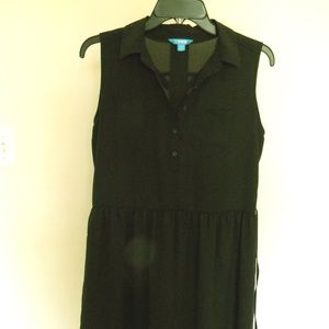 Dresses & Skirts - Black Asymetrical Dress